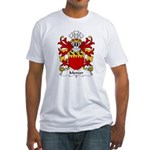 Mercer Family Crest Fitted T-Shirt
