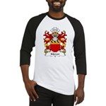 Mercer Family Crest Baseball Jersey
