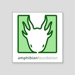 Amphibian Foundation Green Square Logo Sticker