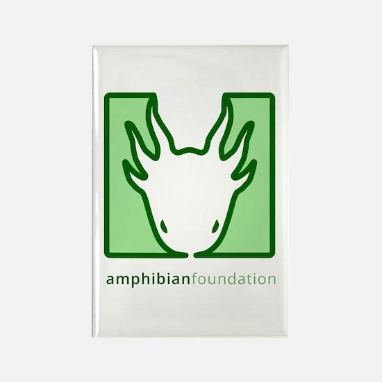 Amphibian Foundation Green Square Logo Magnets