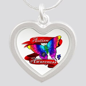 Autism Awareness Butterfly Design Necklaces