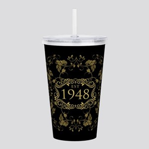1948 Birth Year Acrylic Double-wall Tumbler
