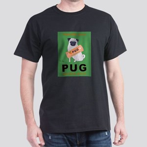 Pug Orange Juice Dark T-Shirt