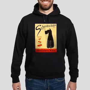 Schnauzer Bars Hoodie (dark)