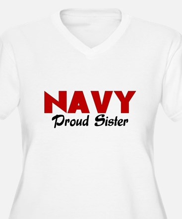 Navy Sister (red) T-Shirt