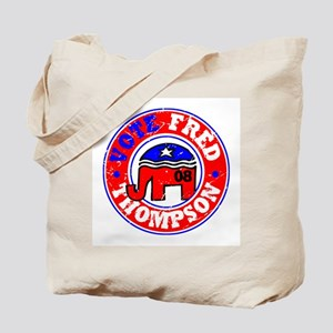 Vote Fred for Pres! Tote Bag