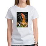 Fairies / Welsh Corgi Women's T-Shirt