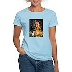 Fairies / Welsh Corgi Women's Light T-Shirt