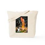 Fairies / Welsh Corgi Tote Bag