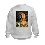 Fairies / Welsh Corgi Kids Sweatshirt