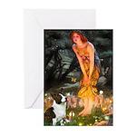 Fairies / Welsh Corgi Greeting Cards (Pk of 10)