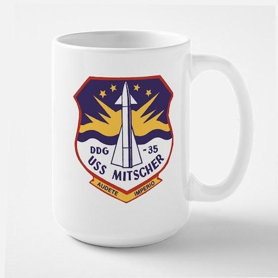 USS MITSCHER Mugs