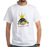 Turtle Princess White T-Shirt