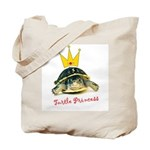 Turtle Princess Tote Bag