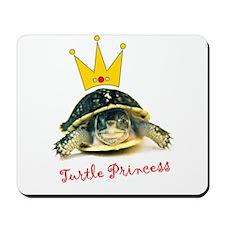 Turtle Princess Mousepad