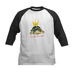 Turtle Princess Kids Baseball Jersey