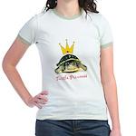 Turtle Princess Jr. Ringer T-Shirt