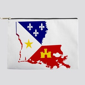 Acadiana State of Louisiana Makeup Bag