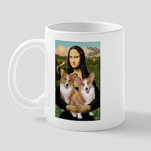Mona / Corgi Pair (p) Mug