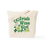 Irish Wine Girl Tote Bag