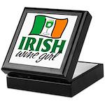 Irish Wine Girl Keepsake Box
