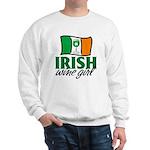 Irish Wine Girl Sweatshirt