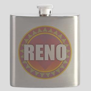 Reno Sun Heart Flask
