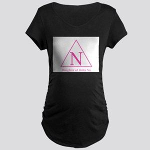Daughter of Delta Nu Maternity T-Shirt