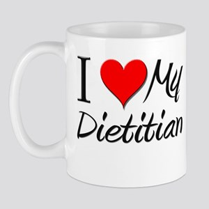 I Heart My Dietitian Mug