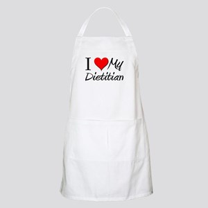 I Heart My Dietitian BBQ Apron