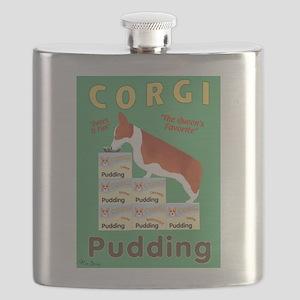 Corgi Pudding Flask