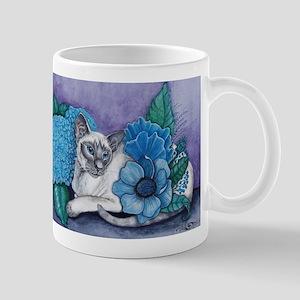 Blue Point Siamese Cat Mugs