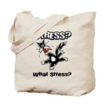 Stressed Cat Tote Bag