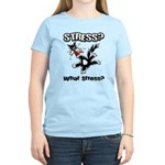 Stressed Cat Women's Light T-Shirt