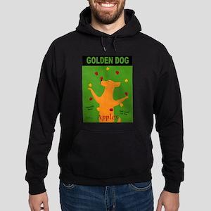 Golden Dog Hoodie (dark)