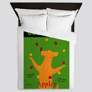 Golden Dog Queen Duvet