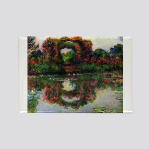 Claude Monet Rose Elbows Magnets
