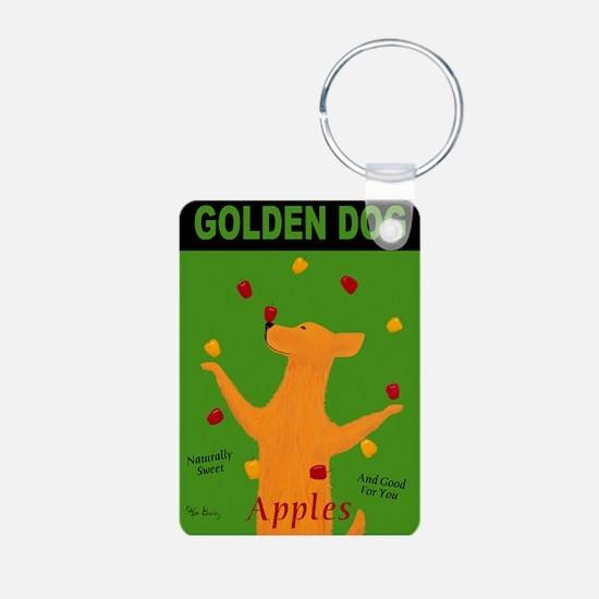 Golden Dog Keychains