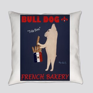 Bull Dog French Bakery Everyday Pillow
