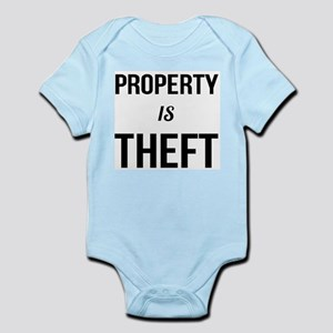 Property is Theft - Anarchist Socialist Body Suit