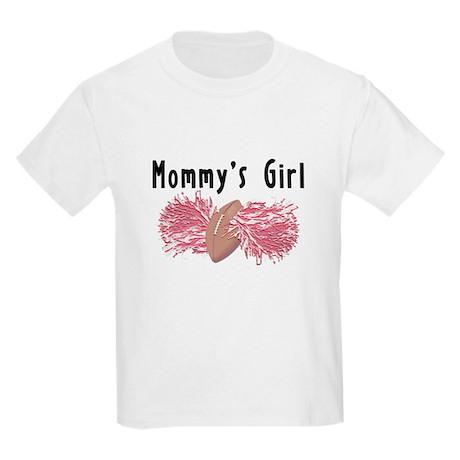 Mommy's Girl Cheerleading Kids Light T-Shirt