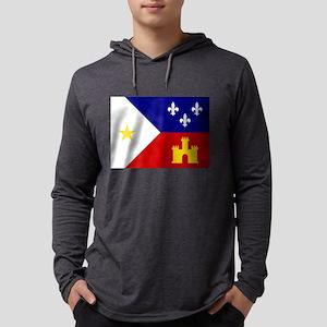 Acadiana Flag Louisiana Long Sleeve T-Shirt