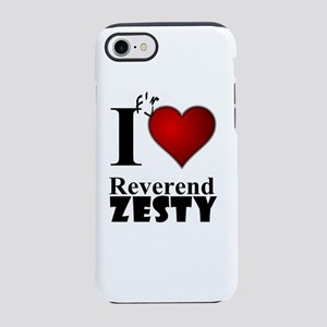 Love Reverend Zesty White iPhone 8/7 Tough Case