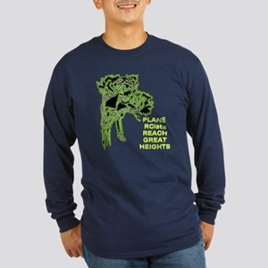Plane RCists Reach Great Heights Long Sleeve Dark