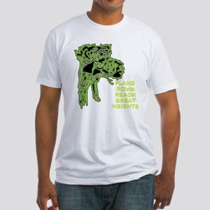 Plane RCists Reach Great Heights Fitted T-Shirt