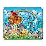 Noah's Ark Animal Mousepad