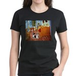 Room / Corgi pair Women's Dark T-Shirt