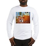 Room / Corgi pair Long Sleeve T-Shirt