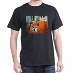 Room / Corgi pair Dark T-Shirt