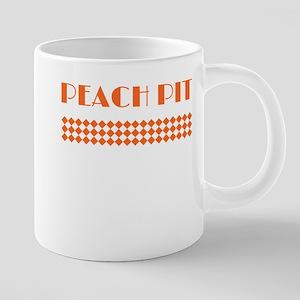 90210 Peach Pit Mugs
